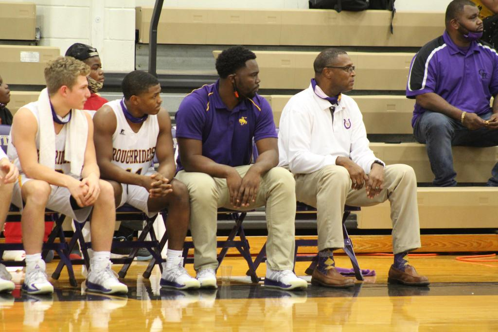 In a high school coaching career spanning more than 700 games, the 2020 Center Roughriders boys team is the one which handed Center's head coach Hiram Harrison his 500th career win. (Courtesy photo/The Light and Champion)