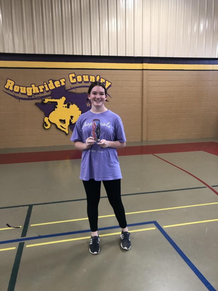 Cecily Gibson - Outstanding Performer